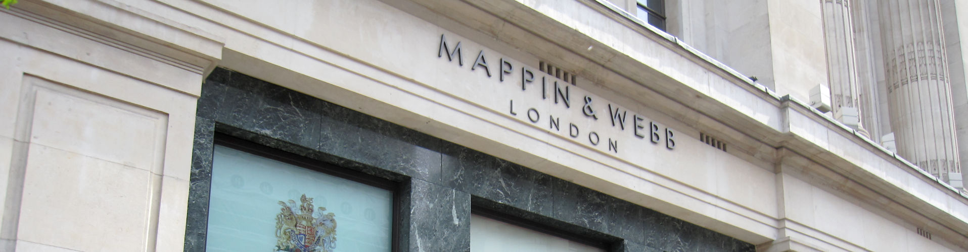 Mappin & Webb Banner